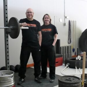 Owners of Highlander Strength and Fitness