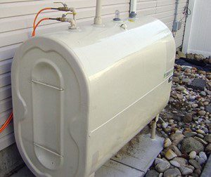 Where is an Oil Tank serial number?